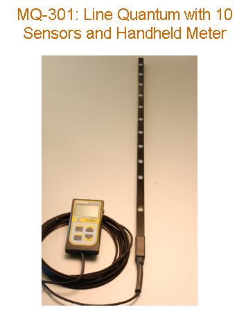 Apogee Quantum Flux Meters