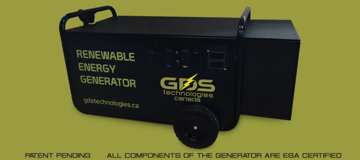 GDS Tech - Water Powered Generator GDS5000 - connectivist collective Oct 30 2015